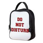Do Not Disturb Neoprene Lunch Bag