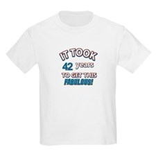 Age specific birthday designs for all T-Shirt