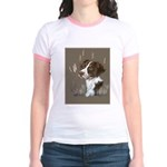 Brittany Spaniel Jr. Ringer T-Shirt