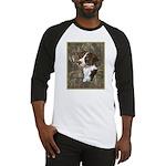 Brittany Spaniel Baseball Jersey