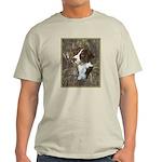 Brittany Spaniel Ash Grey T-Shirt