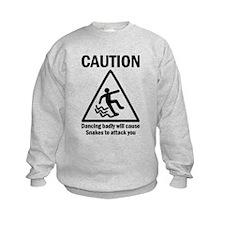 Dancing badly Sweatshirt