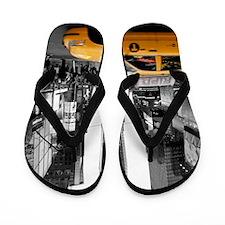 Times Square New York City - Pro photo Flip Flops