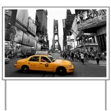 Times Square New York City - Pro photo Yard Sign