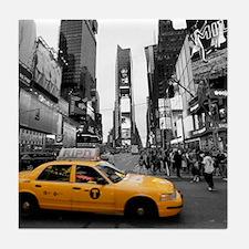 Times Square New York City - Pro photo Tile Coaste