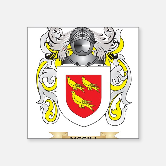 McGill Coat of Arms - Family Crest Sticker