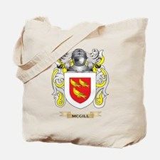 McGill Coat of Arms - Family Crest Tote Bag