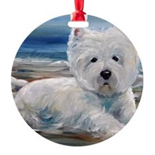 Beached Round Ornament