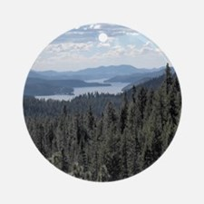 Coeur d'Alene Lake Ornament (Round)