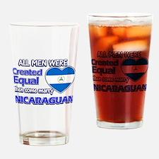 Nicaraguan wife designs Drinking Glass