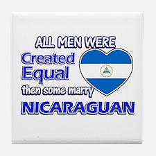 Nicaraguan wife designs Tile Coaster