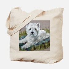Blanket in the Grass Tote Bag