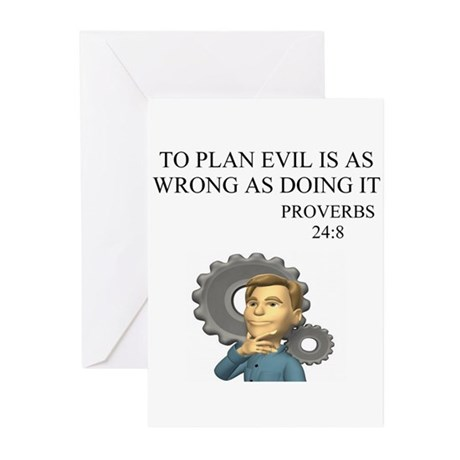 christian humor gifts and t-s Greeting Cards (Pack