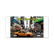 NYC New Professional photo Aluminum License Plate