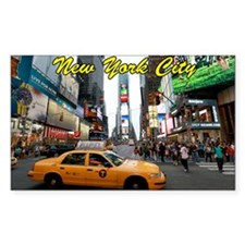 Iconic! Times Square New York- Decal