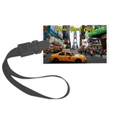 Iconic! Times Square New York-Pr Luggage Tag