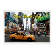 Iconic! Times Square New York-Pro P 5'x7'Area Rug