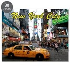 Iconic! Times Square New York-Pro Photo Puzzle