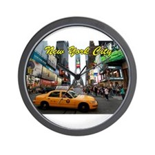 Iconic! Times Square New York-Pro Photo Wall Clock