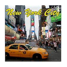 Iconic! Times Square New York-Pro Pho Tile Coaster