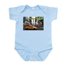 Iconic! Times Square New York-Pro Infant Bodysuit