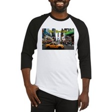 Iconic! Times Square New York-Pro Baseball Jersey