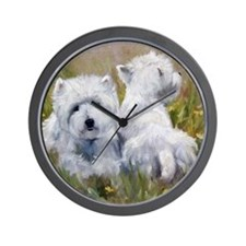 On The Lawn Wall Clock