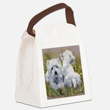 On The Lawn Canvas Lunch Bag