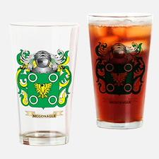 McGonagle Coat of Arms - Family Crest Drinking Gla