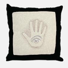 Earthtone Petro EyeHand Throw Pillow
