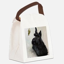 Chasing Butterflies Canvas Lunch Bag