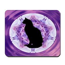 Kaleidoscope Cat Mousepad