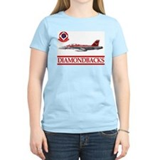 VFA-102 DIAMONDBACKS Women's Pink T-Shirt