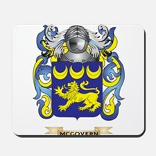 McGovern Coat of Arms - Family Crest Mousepad