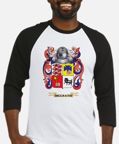 McGrath Coat of Arms - Family Crest Baseball Jerse