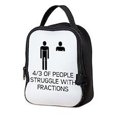 Math Humor Neoprene Lunch Bag