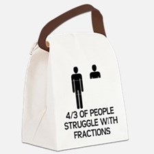 Math Humor Canvas Lunch Bag