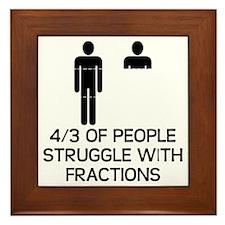 Math Humor Framed Tile