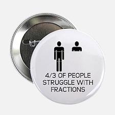 """Math Humor 2.25"""" Button"""