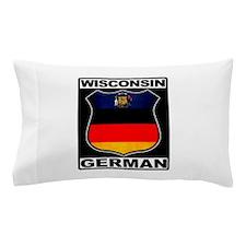 Wisconsin German American Pillow Case