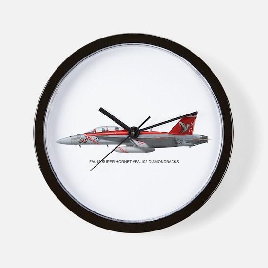 VFA-102 DIAMONDBACKS Wall Clock