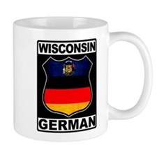 Wisconsin German American Small Mug