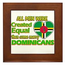 Dominicans wife designs Framed Tile