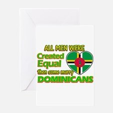 Dominicans wife designs Greeting Card
