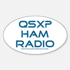 QSX Oval Decal
