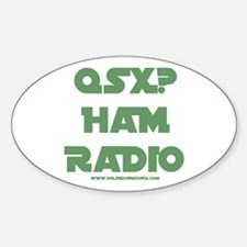 QSX (Green) Oval Decal