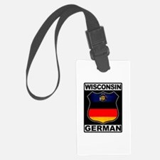 Wisconsin German American Luggage Tag