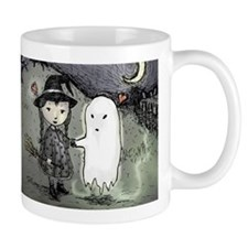 Witch Loves Ghost Mug