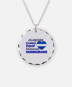 Hondurans wife designs Necklace
