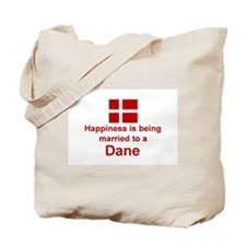 Happily Married To A Dane Tote Bag